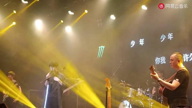 """2019陈鸿宇""""三旬""""全国巡演长沙站《鱼书》现场"""