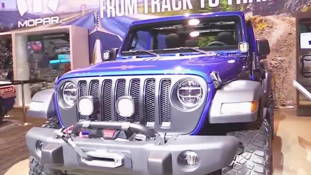芝加哥车展实拍 Jeep 牧马人定制款