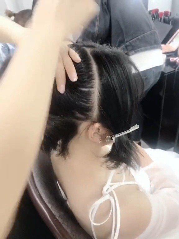短发新娘造型——广安白鹿化妆造型