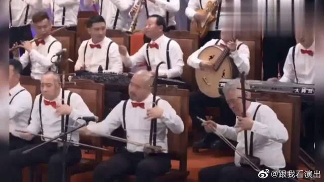 赵家班全体表演《赛马》,每人一项乐器真厉害,除了文松的小锤锤