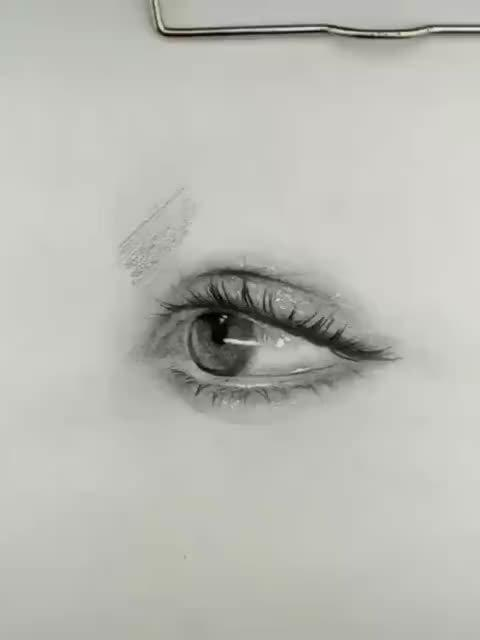 简单的素描眉毛画法,好看的眉毛能提升画面人物的整体气质……