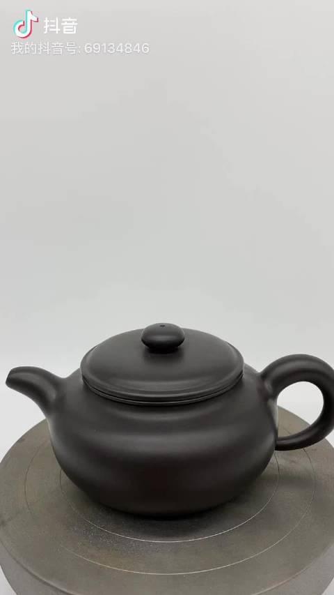中国工艺美术大师顾景舟-------扁腹壶