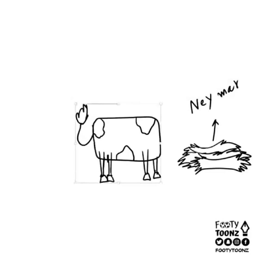漫画:发家致富的巴萨奶牛,看懂了吗,来个人给孩子科普一下