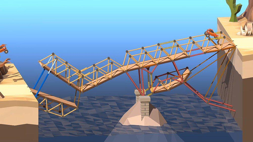 《桥梁建造师2》(Poly Bridge 2)现已在Steam正式发售……