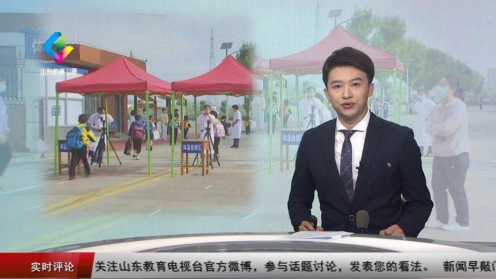 5月26日,潍坊科技学院迎来了首批返校学生。在工作人员引领下……