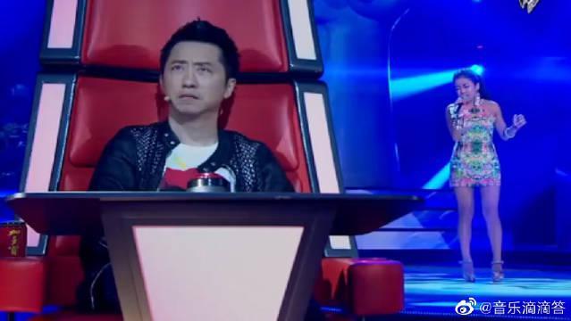中国好声音:吉克隽逸一开口,惊艳全场,这民谣也太好听了吧!