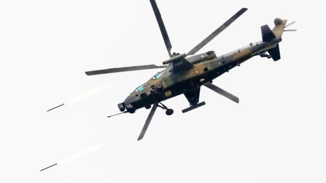 武直-10武器库大曝光:导弹、火箭弹、航炮各有打击目标