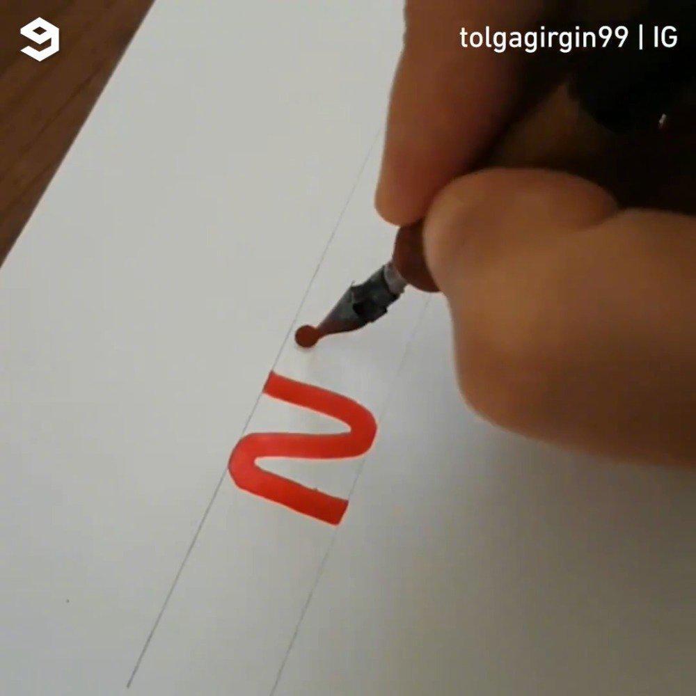 手绘品牌商标~~太牛了!