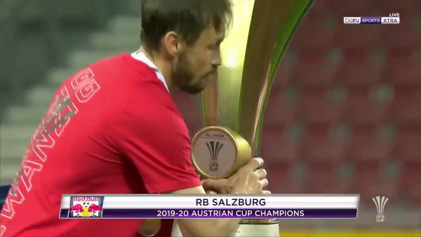 萨尔茨堡获得奥地利杯冠军