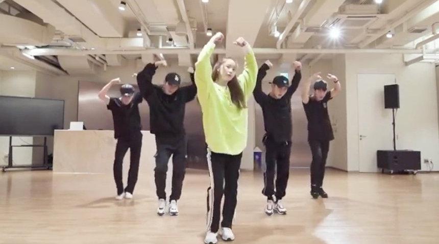 林允儿最新舞蹈视频 for SONE,四支男团舞片段小合辑……