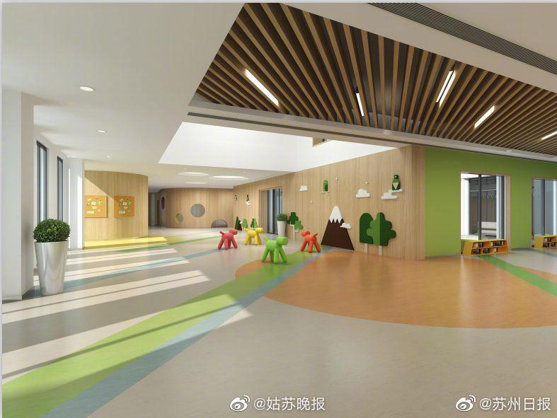 园区四所新幼儿园9月投入使用