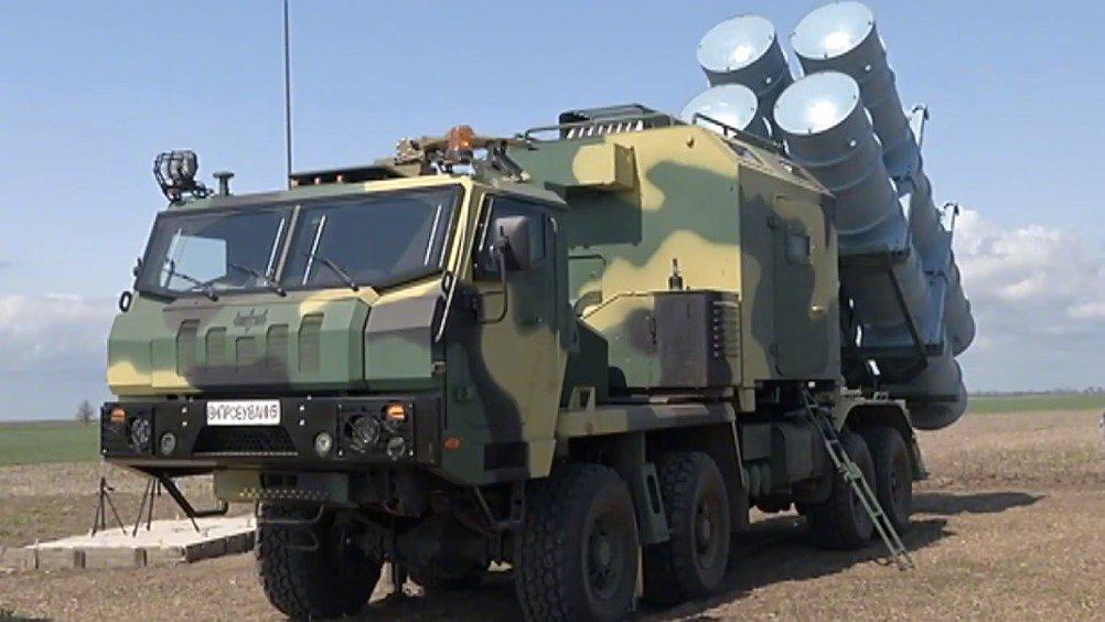 """乌克兰""""海王星""""反舰导弹系统发射测试"""