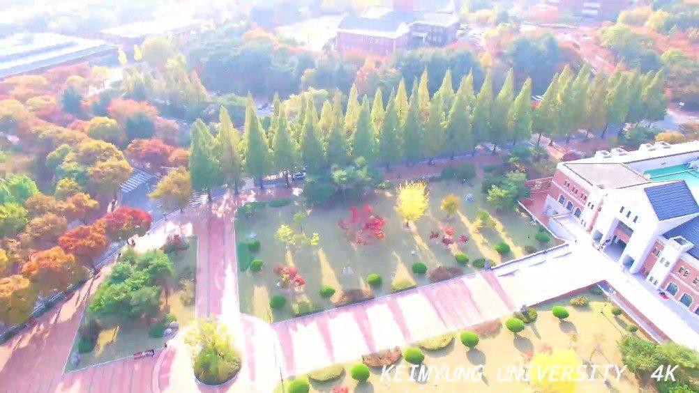 启明大学位于大邱市,学校环境优美.有在这所学校留学的小伙伴吗?