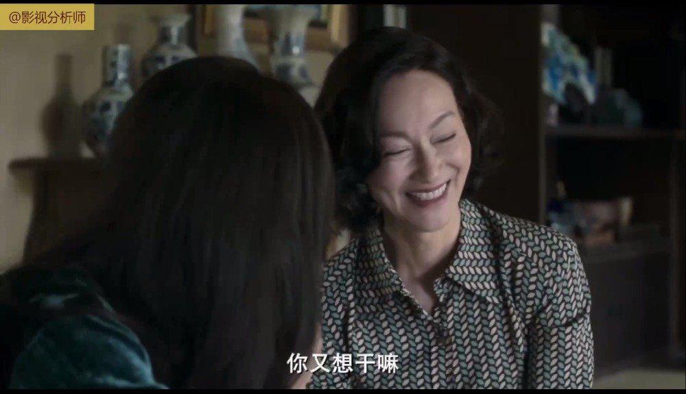 电影《血观音》中惠英红与吴可熙这段对手戏……