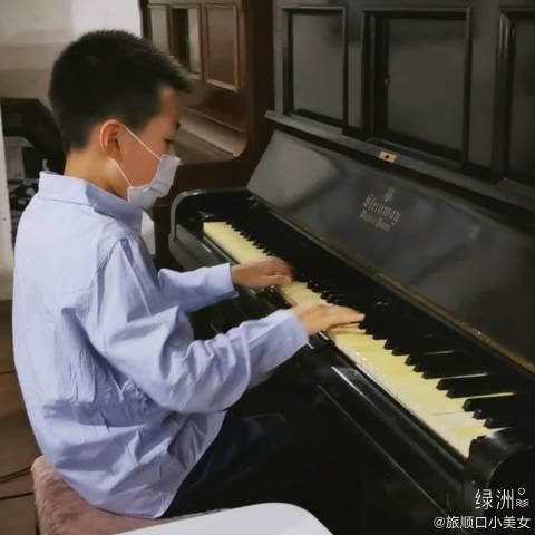 1901年,施坦威象牙键钢琴 1912年,肃亲王从北京带到旅顺口……