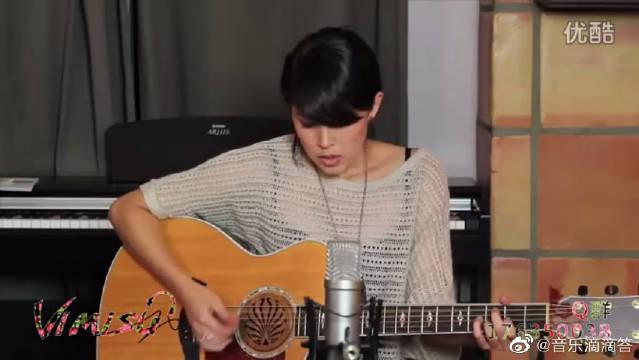 翻唱小美女Kina深情民谣演绎,一首对抗癌症的原创励志歌曲