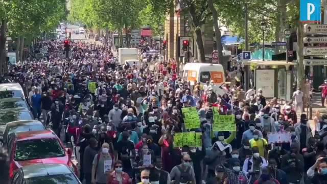 今天巴黎到底有几场游行?密集恐惧症