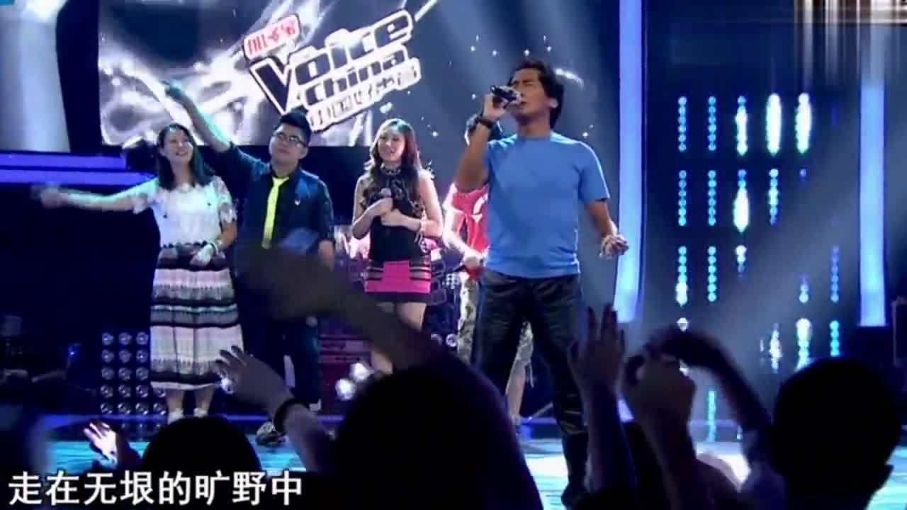 齐秦《狼》直接秒杀汪峰那英,真正的导师献唱,每次点评都好用心