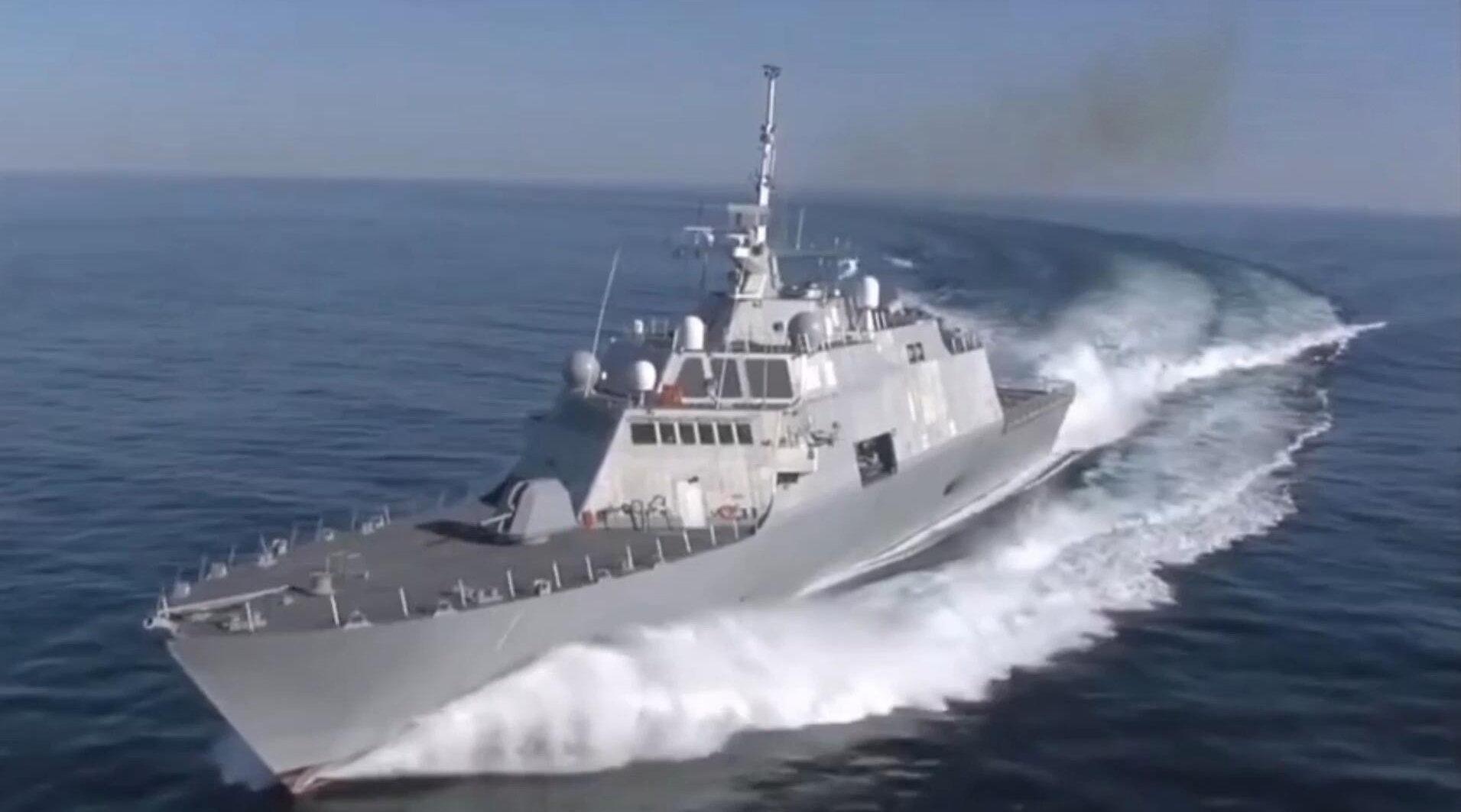 """美国海军一型机动性超强的军舰,自由级""""自由""""号濒海战斗舰!"""