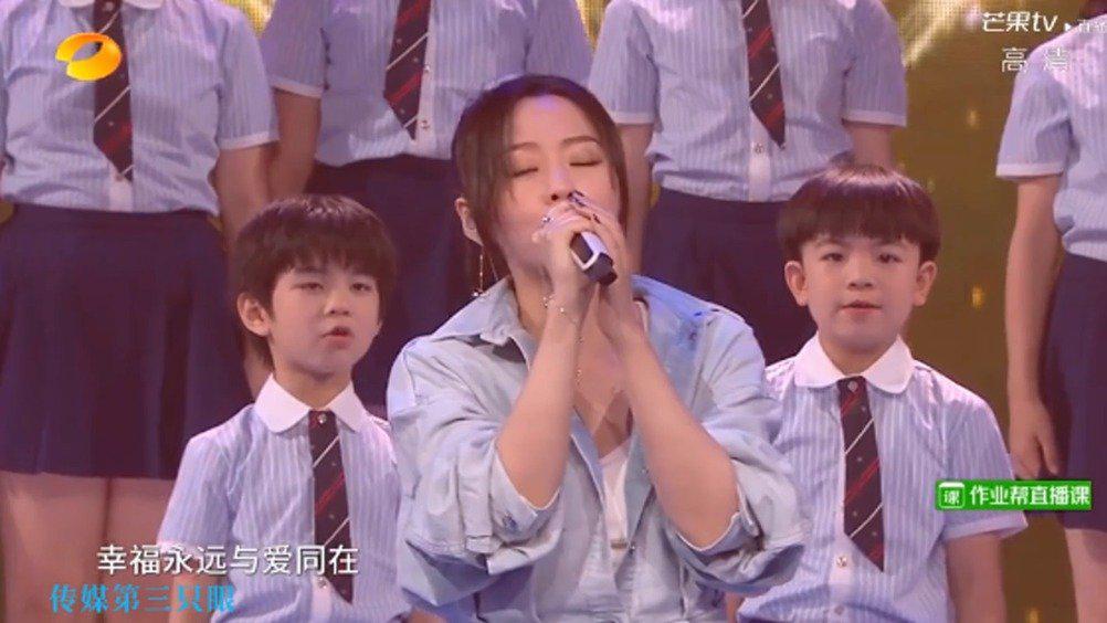 张靓颖《最好的未来》@张靓颖 湖南卫视六一晚会