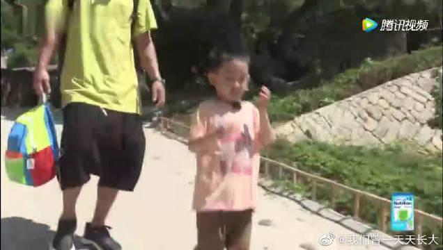 《爸爸去哪儿》未播片段之陈小春~ 陈小春为了表达对儿子的爱意……
