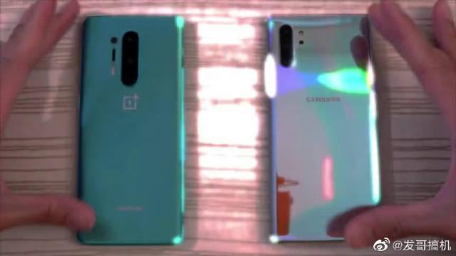 OnePlus 8 Pro vs 三星Note 10 Plus速度对比