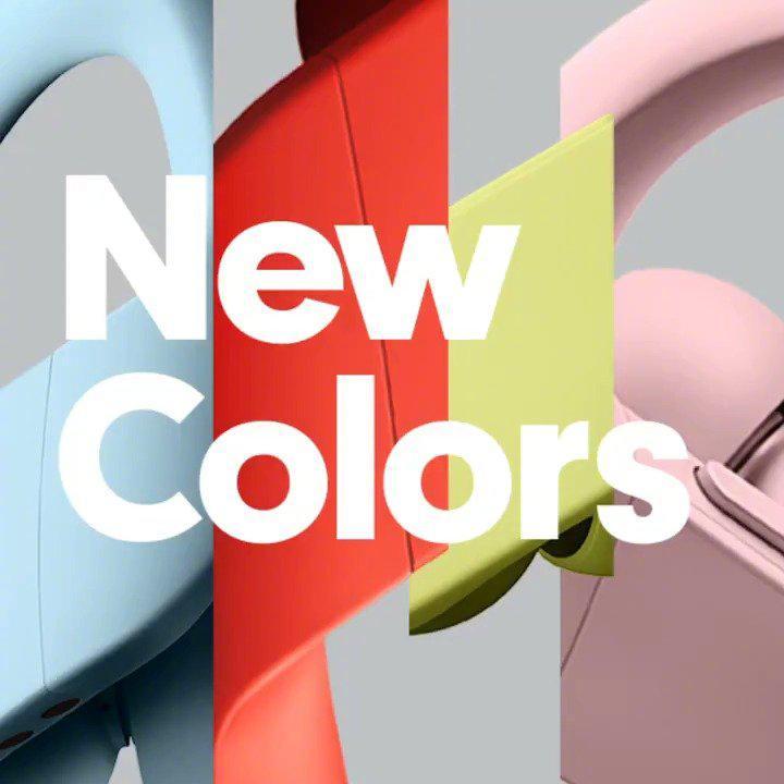 苹果 Powerbeats Pro 全新春季配色正式亮相。喜欢吗?