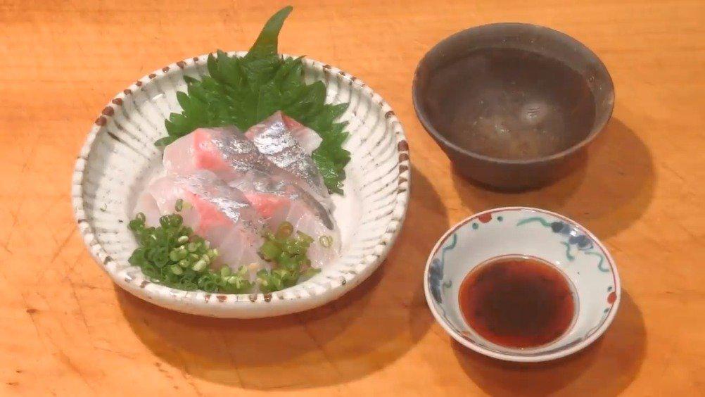 醋渍竹荚鱼