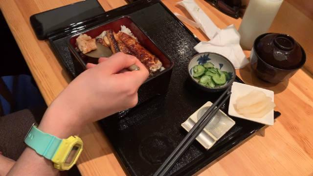 魔都探店Vlog 4 一碗正宗的鳗鱼饭是怎么样的?