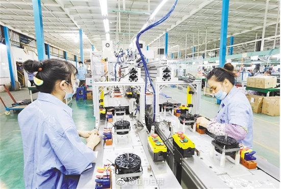 江门市千方百计推动工业投资提速增效