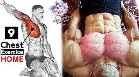 最佳的胸肌训练动作图解加动作示范……