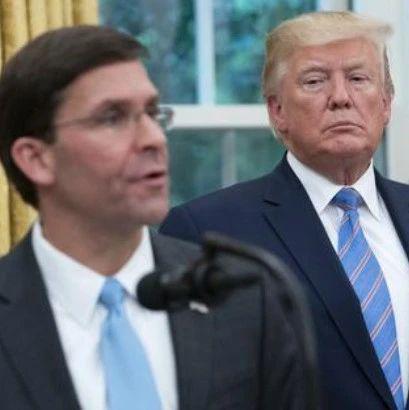 美防长:不支持特朗普援引《叛乱法案》出动军队