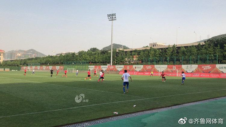 6月4日,山东鲁能与泰州远大的第一场热身赛在鲁能训练基地进行。