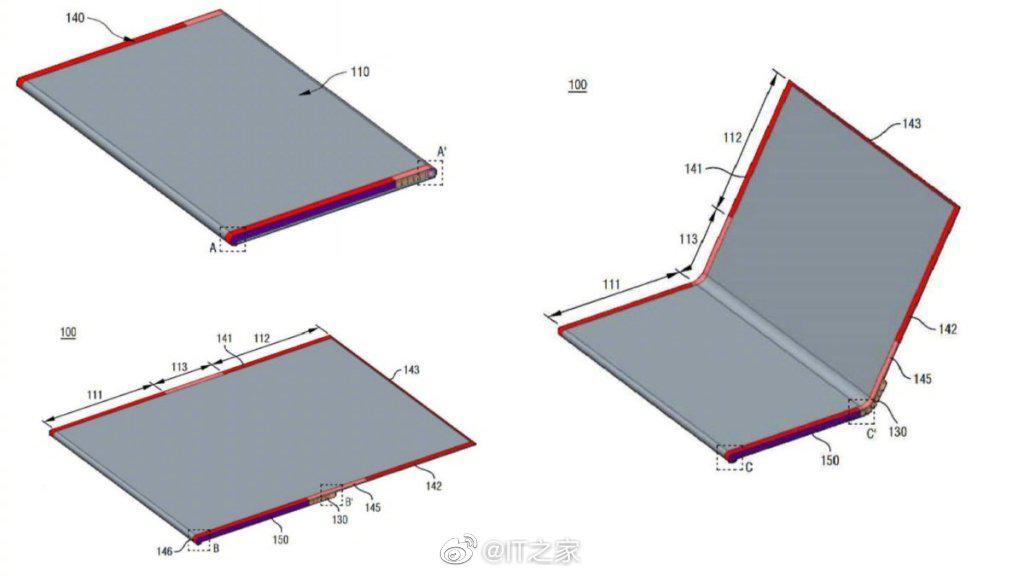 LG折叠屏设备专利曝光:外形类似于笔记本电脑