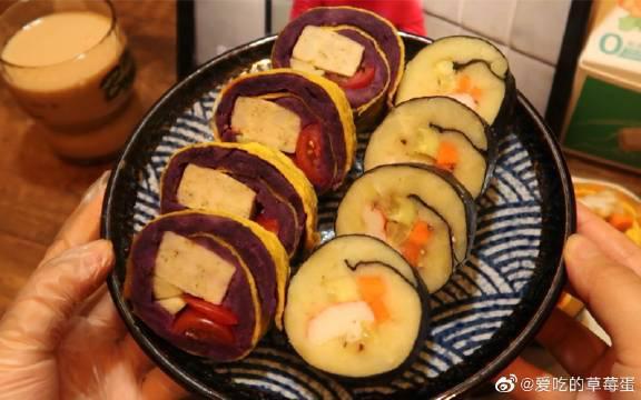 三款低脂无米寿司,减肥期也可以吃的健康主食,减肥星人福音!
