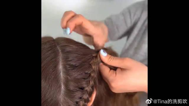 12款酷酷的发型创意,简单漂亮,DIY女孩编发小,赶紧学起来!