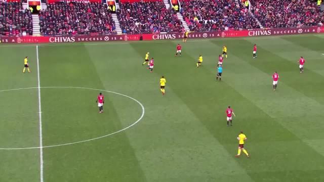 一起来看格林伍德在曼联对阵沃特福德的一记精彩进球