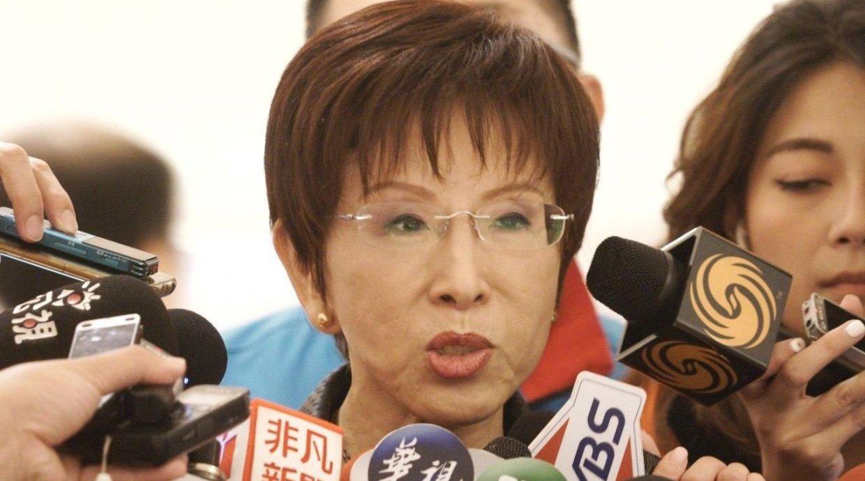 前国民党主席洪秀柱痛批民进党制造仇恨对立