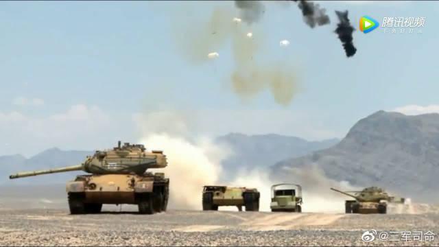 美国CBU-105型集束炸弹,坦克杀手之称果然名不虚传!