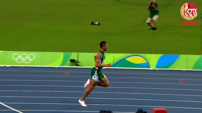 里约田径记忆 范尼凯克破世界纪录夺400米冠军
