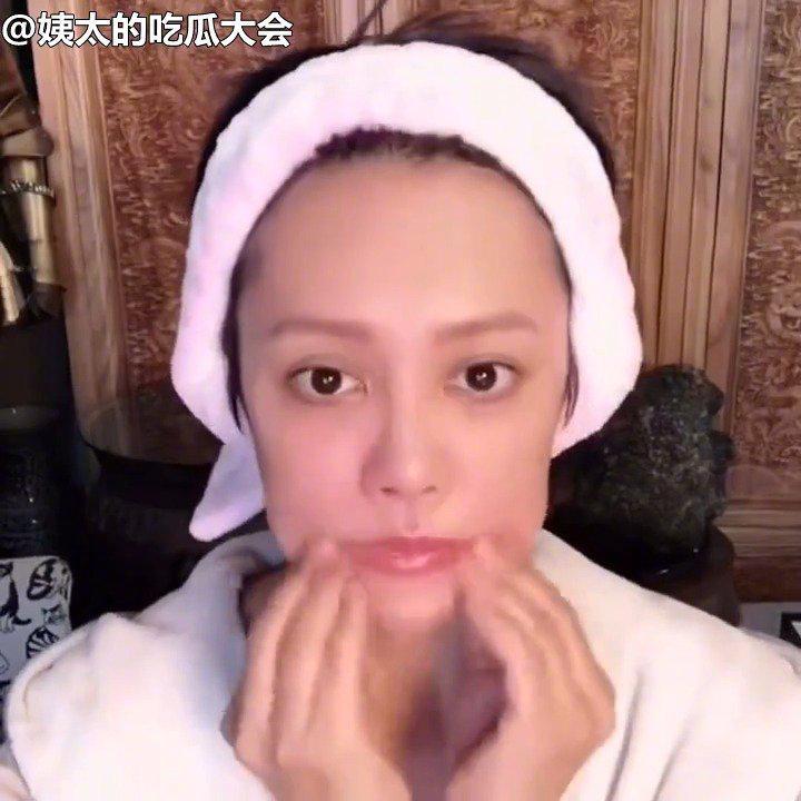 宁静分享的脸部按摩法,对排水肿瘦脸,提拉紧致有奇效……