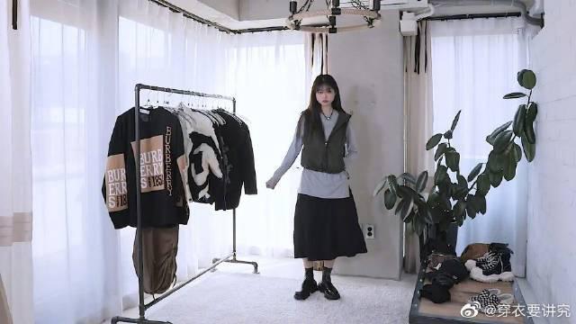 模特Choi Soyoon的LOOKBOOK,典型酷女孩的穿搭模版……