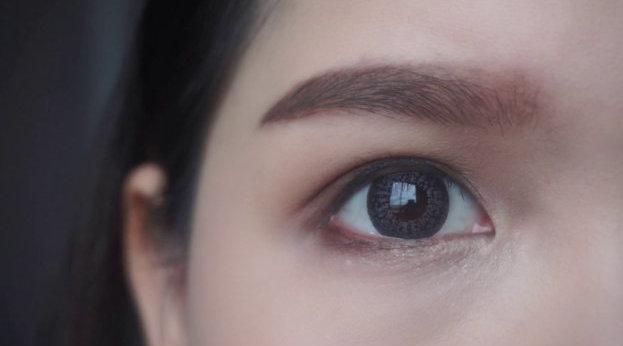 内双+下垂眼眼妆,可以说是非常日常且实用的眼妆分享了!