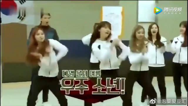 宇宙少女团跳EXO的舞蹈 男团跳女团舞好看,女团跳男团舞也好看