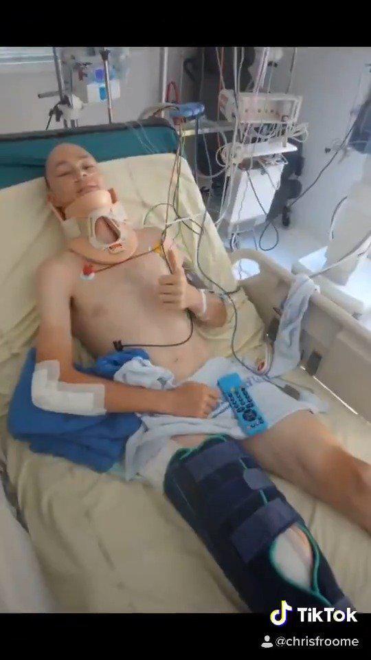 弗鲁姆重伤一周年。去年今天,弗鲁姆遭遇恐怖车祸,多处骨折……