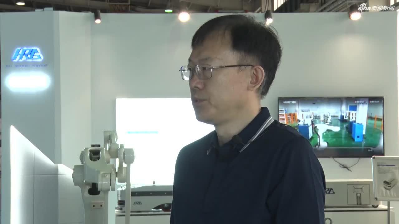 哈工大机器人集团常务副总裁白相林
