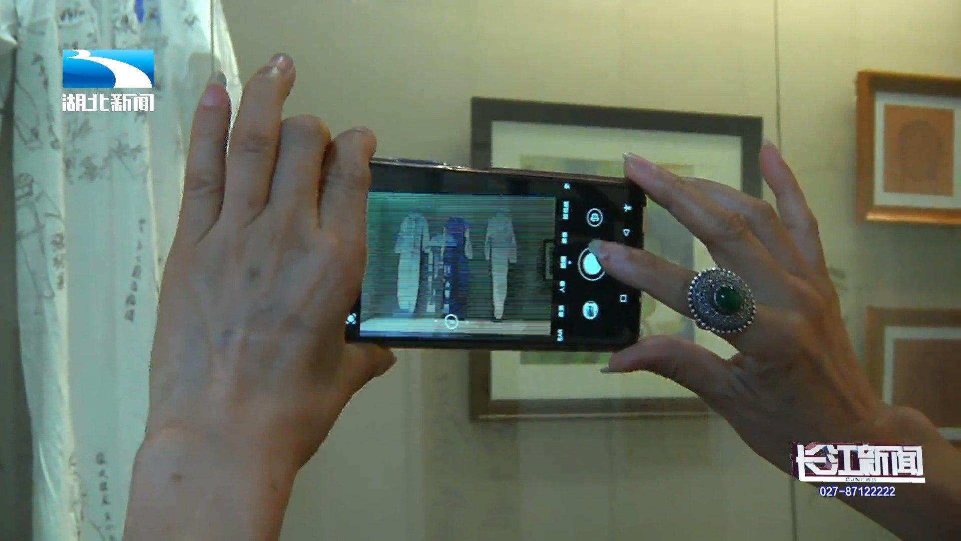 以艺传情,武汉革命博物馆举办抗疫艺术作品展