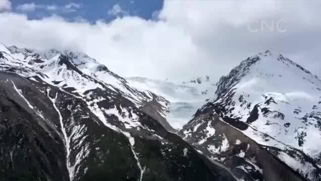 世界新记录 壮美来古冰川
