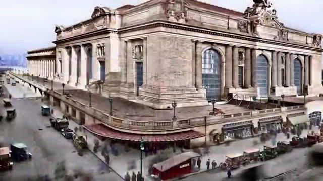New York City 1900-1919 In Color HD,上世纪初……