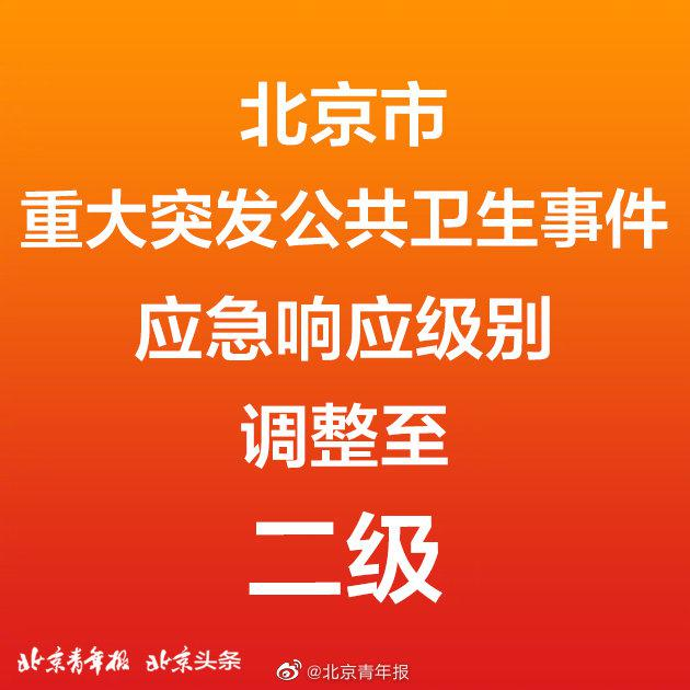 北京恢复二级响应 将执行这15条疫情防控措施!图片